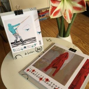 Wand- und Tischkalender 2017 // die fuechsin